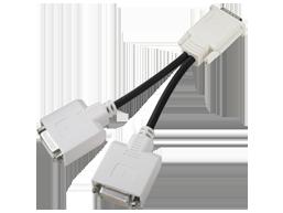 HP DMS59 DVI Dual-head Connector Cable