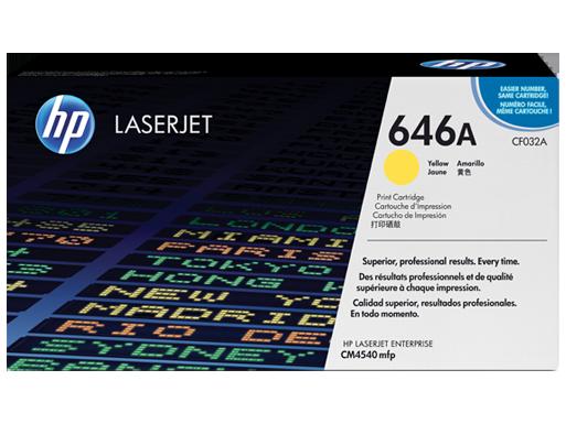 HP 646A Yellow Original LaserJet Toner Cartridge