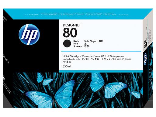 HP 80 350-ml Black Ink Cartridge