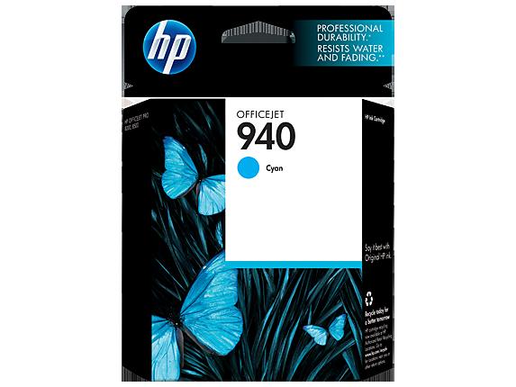 HP 940 Cyan Original Ink Cartridge