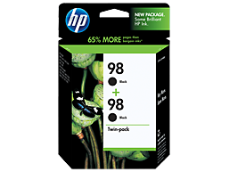 HP 98 2-pack Black Original Ink Cartridges