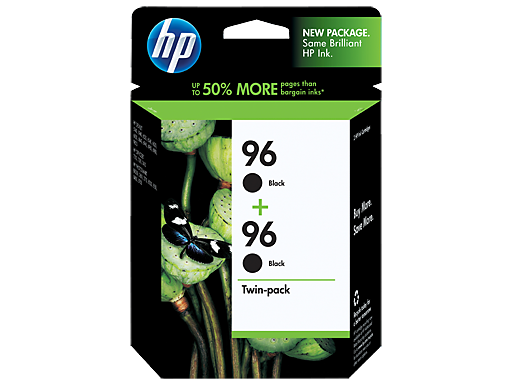 HP 96 2-pack Black Inkjet Print Cartridges