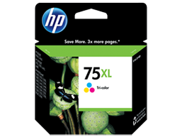 HP 75XL High Yield Tri-color Original Ink Cartridge
