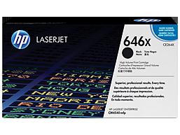 HP 646X High Yield Black Original LaserJet Toner Cartridge, CE264X