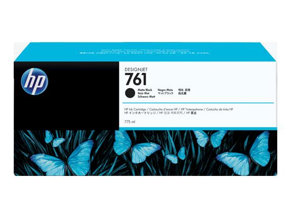 HP 761 775-ml Matte Black DesignJet Ink Cartridge