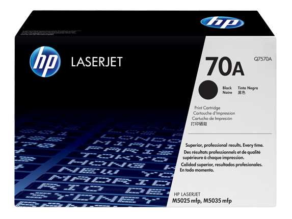 HP 70A Black LaserJet Toner Cartridge