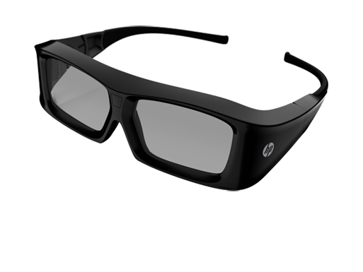 HP 3D Active Shutter Glasses