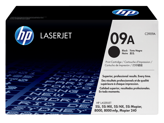HP 09A Black LaserJet Toner Cartridge