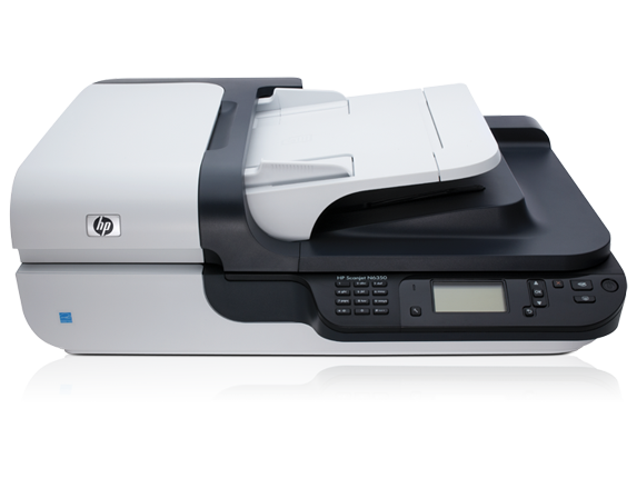 HP Scanjet N6350 Networked Document Flatbed Scanner