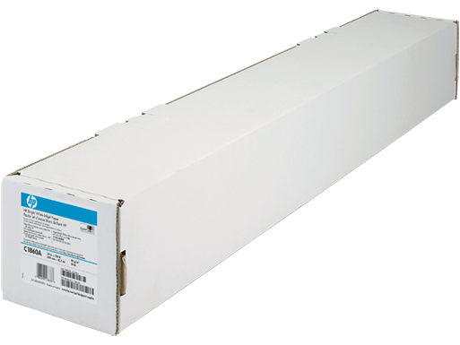 HP Bright White Inkjet Paper-610 mm x 45.7 m (24 in x 150 ft)