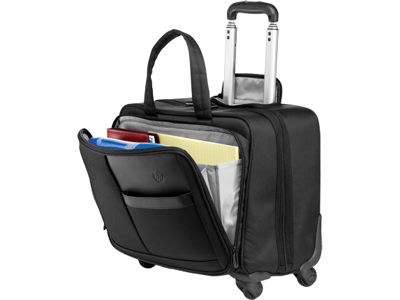 HP Deluxe 4 Wheel Roller Case