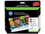 HP 95 Series Photo Value Pack-200 sht/4 x 6 in