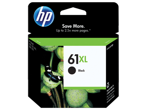HP 61XL Black Ink Cartridge