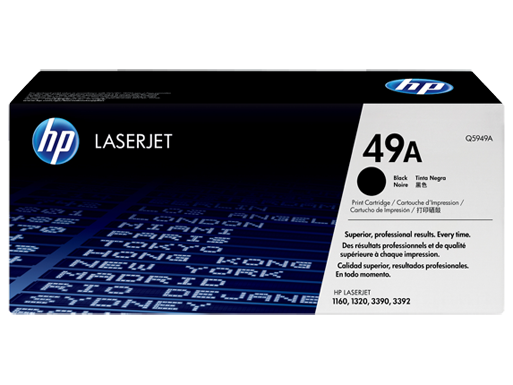 HP 49A Black Original LaserJet Toner Cartridge