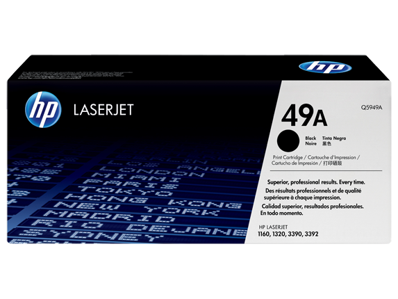 HP 49A Black LaserJet Toner Cartridge