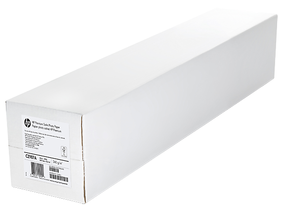 HP Premium Plus Satin Photo Paper-610 mm x 15.2 m (24 in x 50 ft)