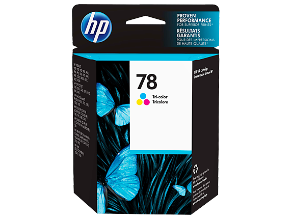 HP 78 Tri-color Original Ink Cartridge
