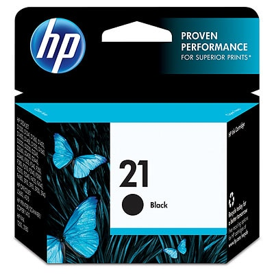 HP 21 Black Original Ink Cartridge C9351AN#140