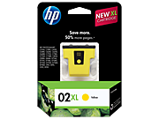 HP 02XL Yellow Ink Cartridge