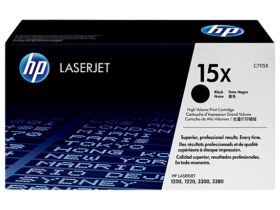 HP 15X Black LaserJet Toner Cartridge