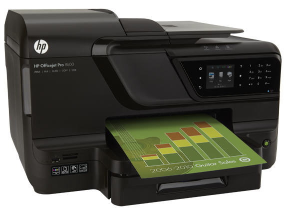 HP Officejet Pro 8600 E All In One Printer