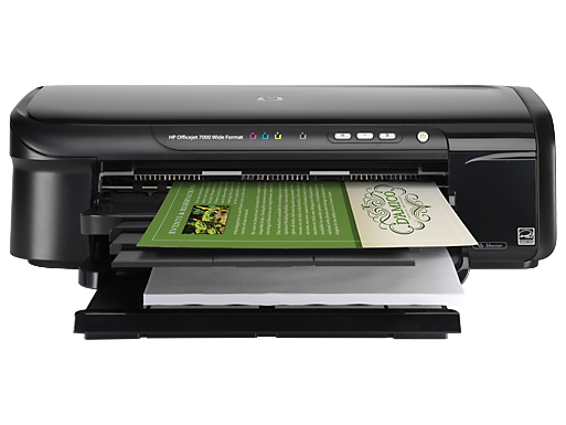 HP Officejet 7000 Wide Format Printer - E809a