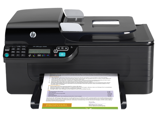 HP Officejet 4500 All-in-One Printer - G510g