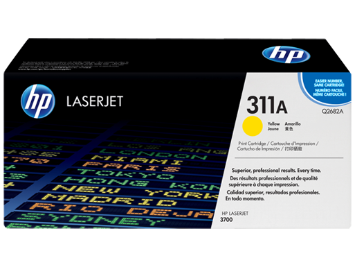 HP 311A Yellow Original LaserJet Toner Cartridge