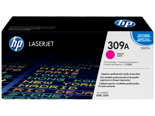 HP 309A Magenta LaserJet Toner Cartridge