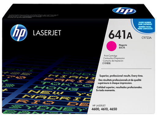 HP 641A Magenta LaserJet Toner Cartridge