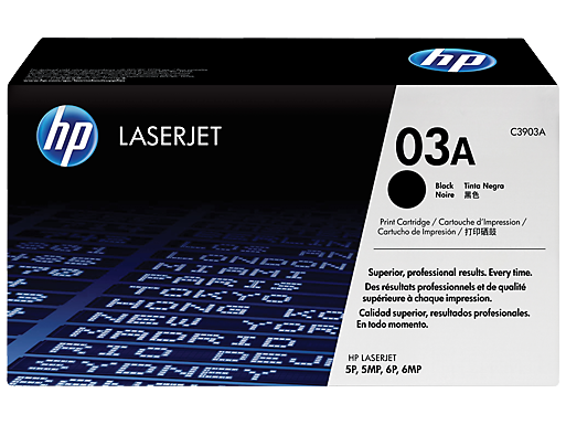 HP 03A Black Original LaserJet Toner Cartridge