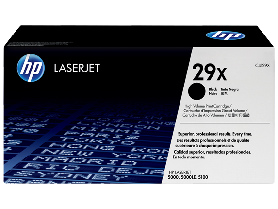 HP 29X Black LaserJet Toner Cartridge