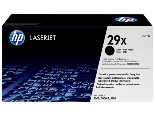 HP 29X High Yield Black Original LaserJet Toner Cartridge