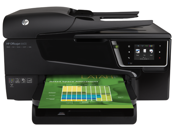 HP Officejet 6600 e-All-in-One Printer - H711a/H711g