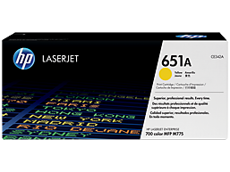 HP 651A Yellow Original LaserJet Toner Cartridge