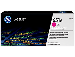 HP 651A Magenta Original LaserJet Toner Cartridge