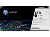 HP 651A Black Original LaserJet Toner Cartridge