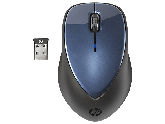 HP x4000 Wireless Mouse (Winter Blue) with Laser Sensor