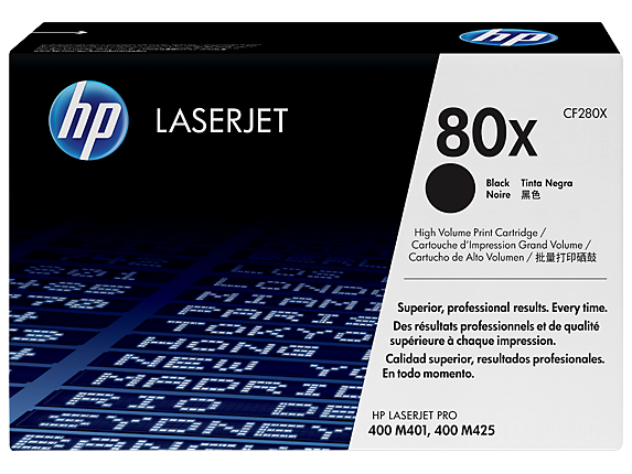 HP 80X Black LaserJet Toner Cartridge