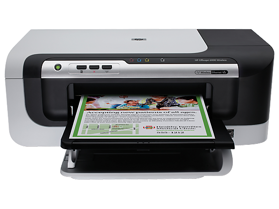 HP Officejet 6000 Wireless Printer - E609n