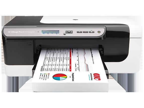 Hp officejet pro 8000 enterprise printer a811a hp for Best home office hp inkjet printer