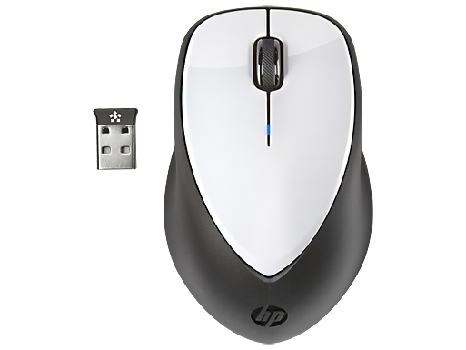 HP x4000 Wireless Mouse (Linen White) with Laser Sensor