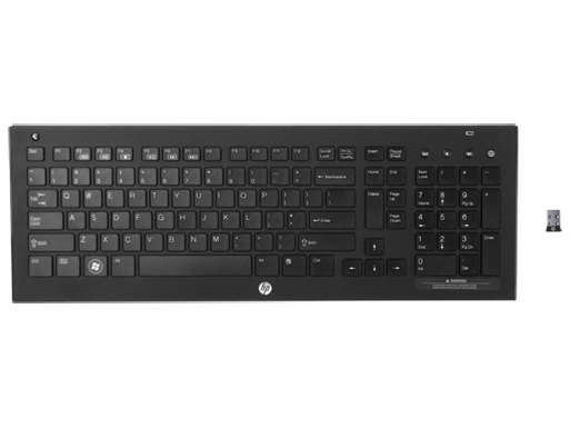 HP Wireless Elite v2 Keyboard