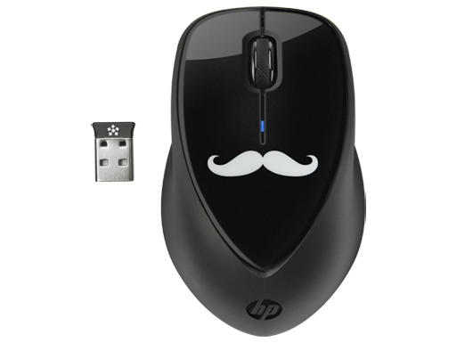 HP x4000 Wireless Mouse (Stashe) with Laser Sensor