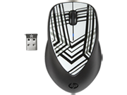 HP x4000 Wireless Mouse (Zebra Fade) with Laser Sensor
