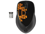 HP x4000 Wireless Mouse (Scrap Metal) with Laser Sensor