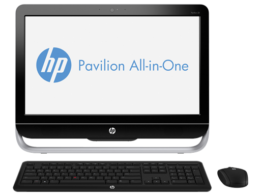 hp all in one desk top