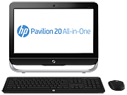 HP Pavilion 20-b210z All-in-One  Desktop PC (ENERGY STAR)