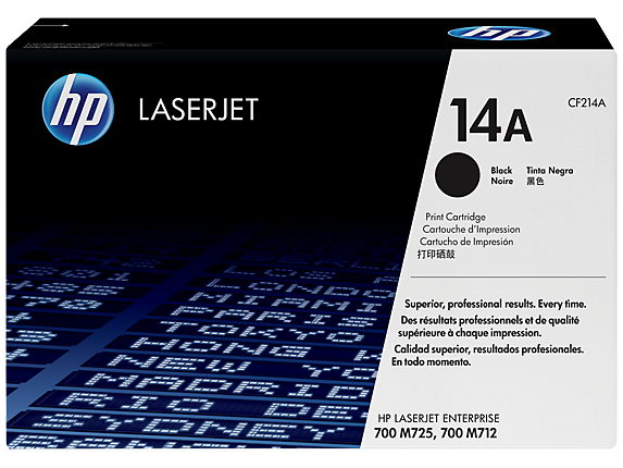 HP 14A Black LaserJet Toner Cartridge