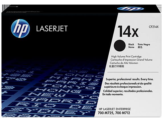 HP 14X High Yield Black Original LaserJet Toner Cartridge, CF214X